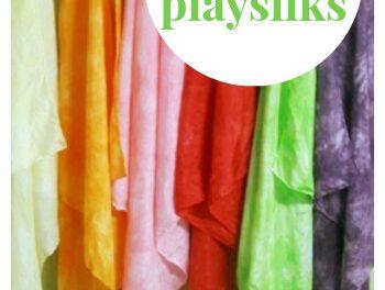 DiY Playsilks : : Teinture avec Kool Aid