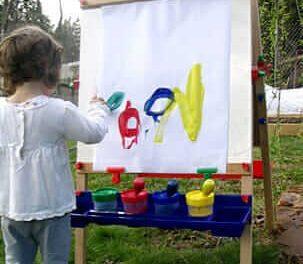Chevalet pour enfants – 6 idées pour encourager l'intérêt continu des enfants