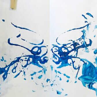 Plus d'idées de peinture de corde pour des enfants