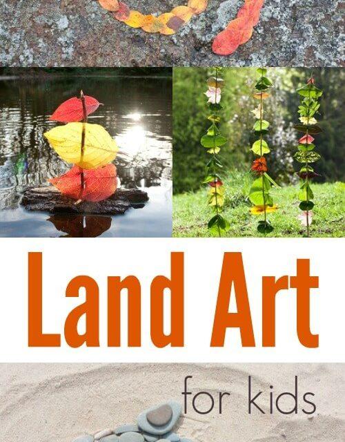 Land Art pour les enfants