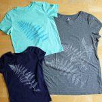 Impression des feuilles sur le tissu – Comment faire de l'art vestimentaire !
