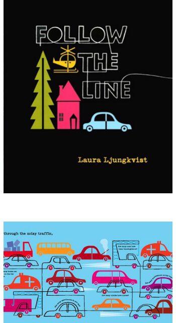 Suivez le Line Book pour les enfants