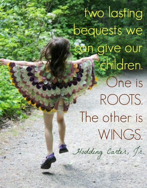 Donner des ailes à mes enfants