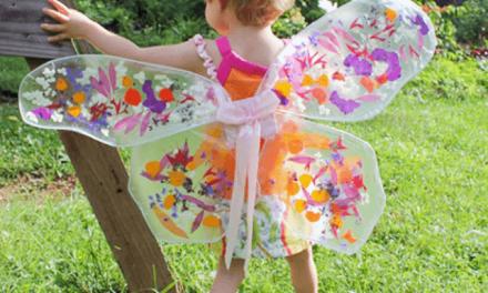Ailes de fée pour enfants – Comment faire vos propres ailes magiques Upcycled Wings