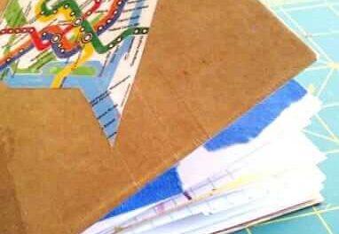 Journal de voyage de bricolage pour les enfants pour l'art inspiré du lieu de tournage