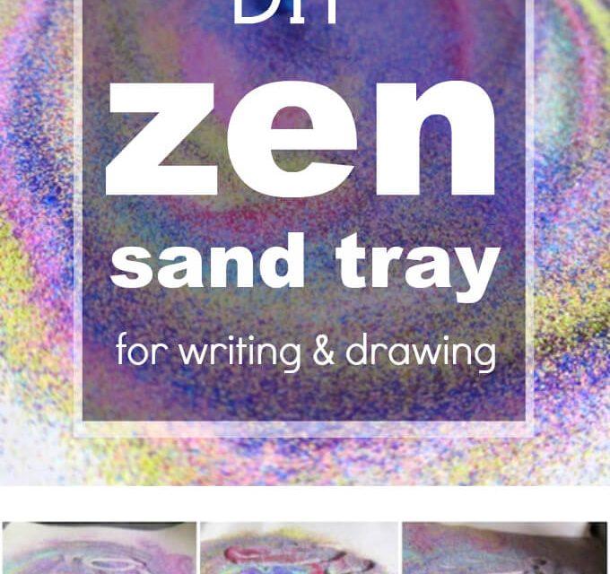 Comment faire votre propre plateau de sable zen
