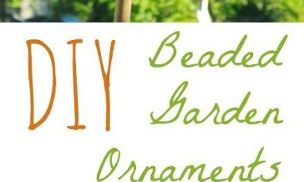Comment faire des décorations de jardin en perles
