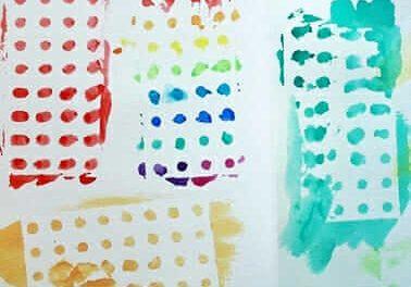 Frugal Art :: : Stickers à peindre de la papeterie