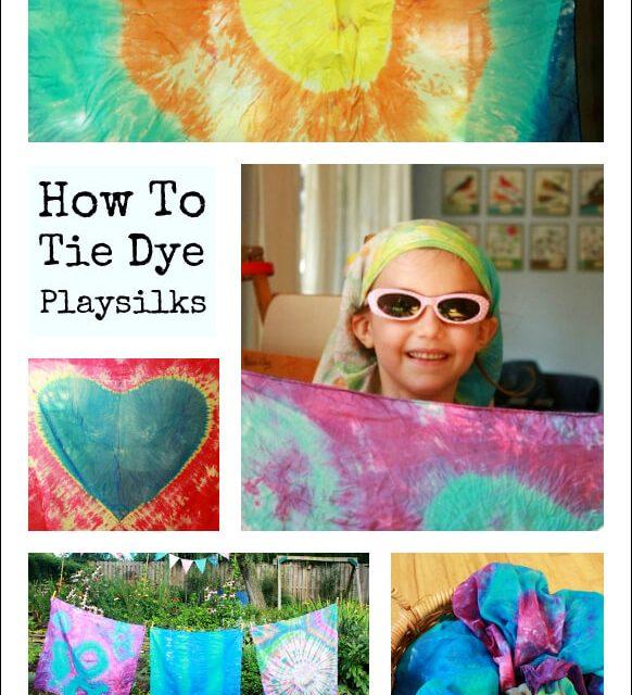 Comment nouer les foulards de teinture et les soies de jeu