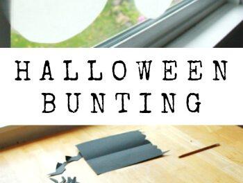 Halloween Bunting :: : Comment faire un rapide et bon marché !