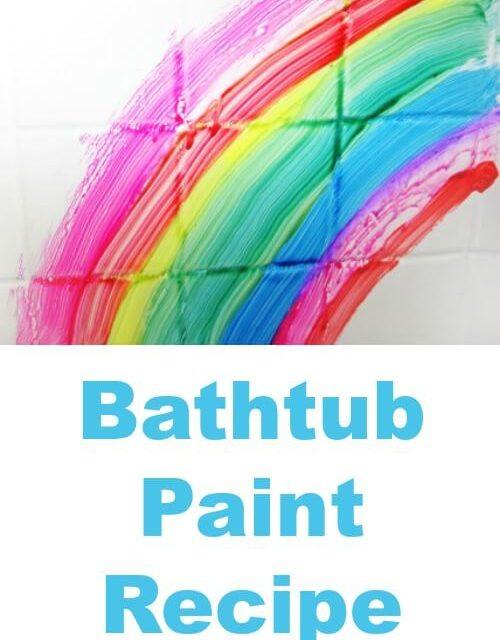 Recette de peinture de baignoire