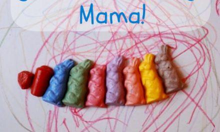 Crayons façonnés = Dessin créatif pour les petits enfants