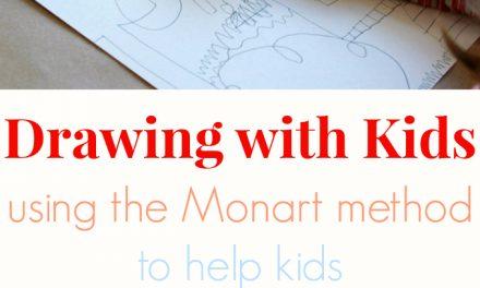Dessiner avec les enfants selon la méthode Monart