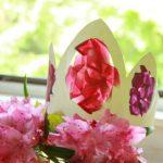 Couronnes et colliers de fleurs de bricolage (Oui, vitrail !)