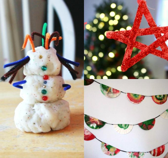 11 Idées Artisanat de Noël pour les enfants de cette période des Fêtes