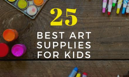 Les 25 meilleurs matériels d'art pour enfants !