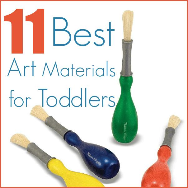 Alors, quels sont les meilleurs matériaux artistiques pour les tout-petits ?