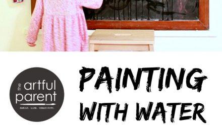Peindre à l'eau : : Facile, facile, facile et amusant !