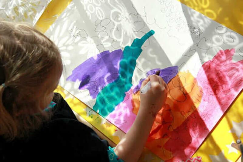 L'art de l'ombre pour les enfants : Tracer la lumière