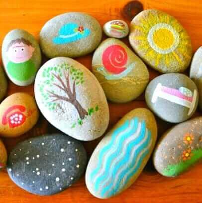 5 idées de pierres d'histoire : Raconter des histoires avec Rocks