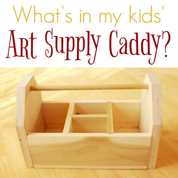 Cadeaux de fournitures d'art pour enfants