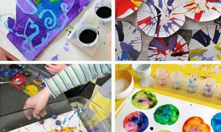 Activités de peinture pour les enfants d'âge préscolaire : : 11 Favoris