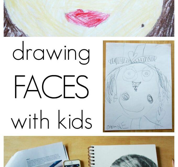 Dessiner des visages pour les enfants