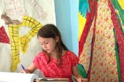 Ressources d'espace d'art d'enfants