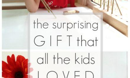 Le cadeau surprenant que tous les enfants aimés