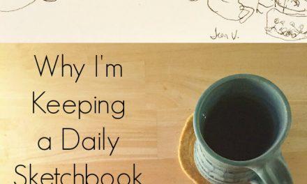 Mon projet de carnet de croquis quotidien