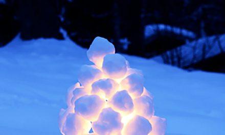 Comment faire des lanternes suédoises de boule de neige