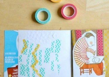 Revues d'art de bricolage pour les enfants (avec invite à dessiner)