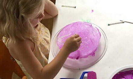 Monoprinting avec les enfants la manière la plus facile