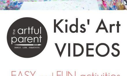 L'art en action avec les enfants Vidéos d'art
