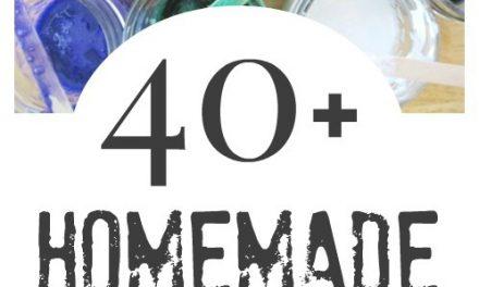 40+ Matériel d'art fait maison pour les enfants