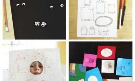 11 Pages d'activités artistiques de bricolage pour les enfants