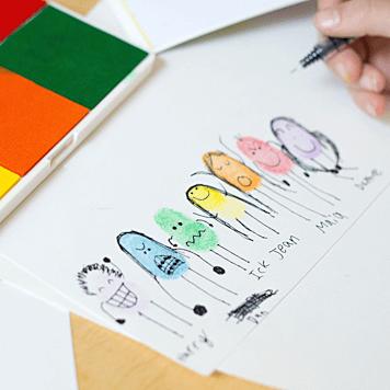 Notre obsession avec l'art des empreintes digitales