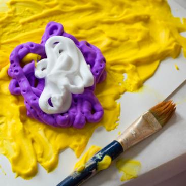 Foam Paint :: : Process Art for Kids