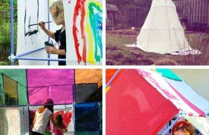 50 idées géniales de Fort Kids à l'aide d'une trousse Fort Magic Kit