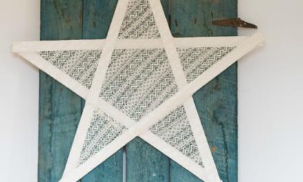 Décorations étoile en bois 5 façons