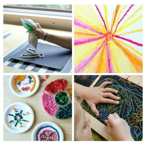 Nouvelles activités artistiques préférées des enfants