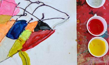 Peintures d'art au fil