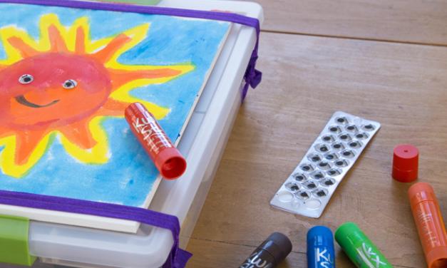 Kits de bricolage d'art portable pour les enfants