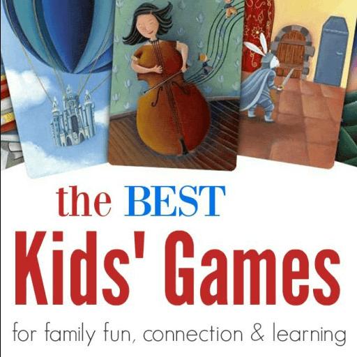 Les meilleurs jeux pour enfants pour s'amuser en famille, se connecter et apprendre