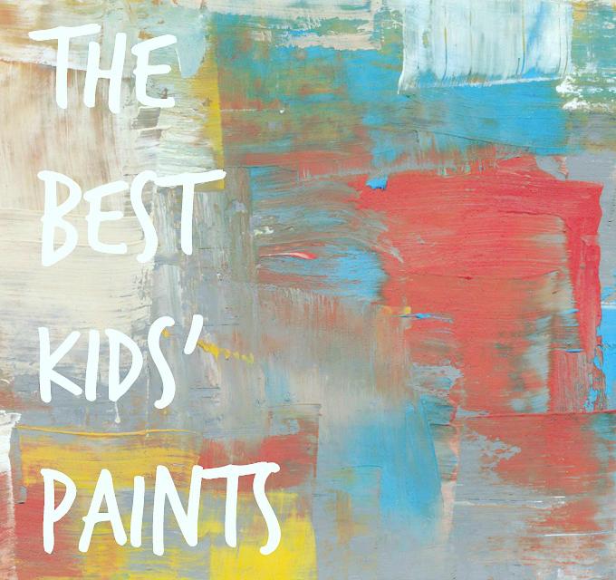 Les meilleures peintures pour enfants pour l'art et l'artisanat