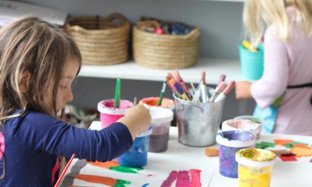 Comment aménager un espace d'art pour enfants