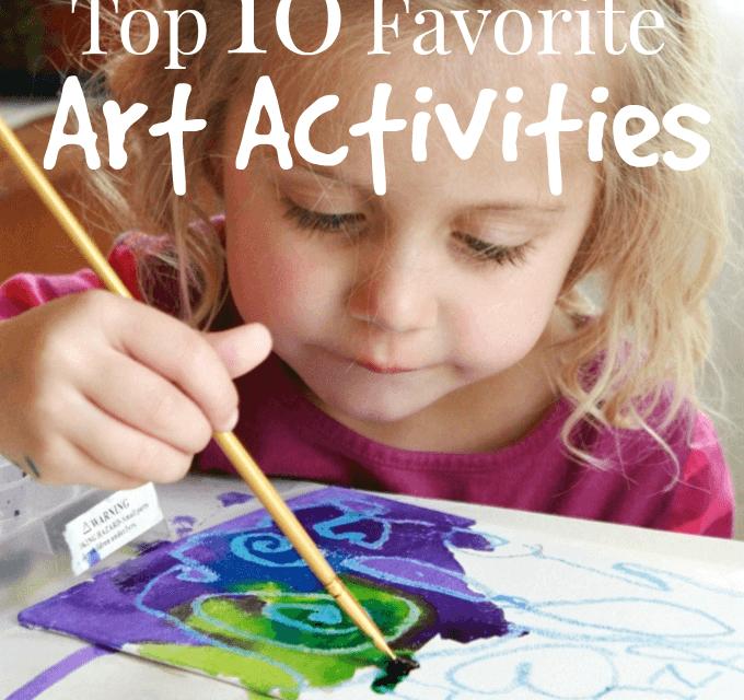 10 activités artistiques préférées des enfants qui ont fait leurs preuves