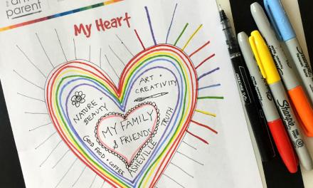 Activité de la Saint-Valentin imprimable :: : Qu'y a-t-il dans mon cœur ?
