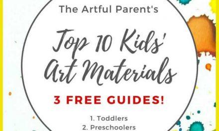 Guides gratuits de matériel d'art pour enfants (+ Un nouveau look pour le parent ingénieux)