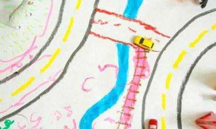 Créez votre propre tapis de jeu pour les enfants Faites semblant de jouer